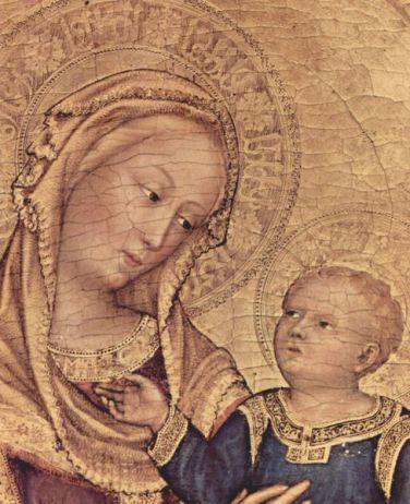 Gentile da Fabriano - Maryja z Dzieciątkiem