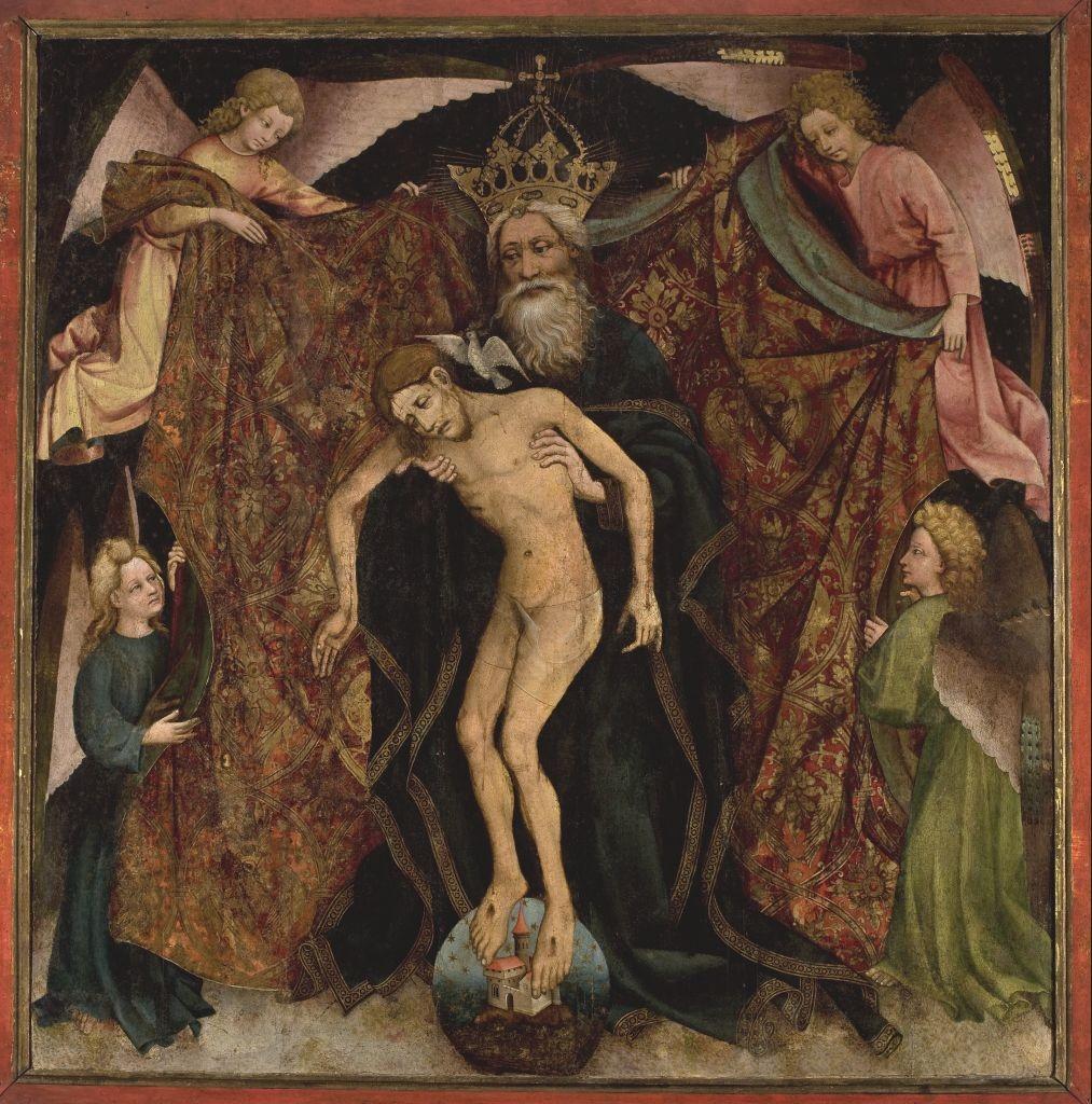 Pietas patri - Trójca Ojcowska, autor nieznany (XV w.)