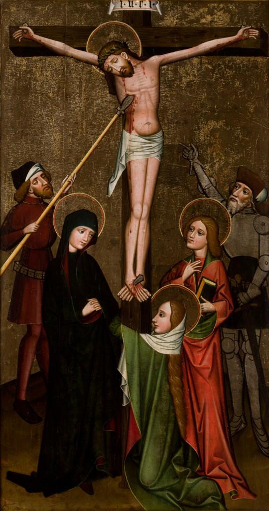Ukrzyżowanie z Korzennej (XV w.), malarz małopolski