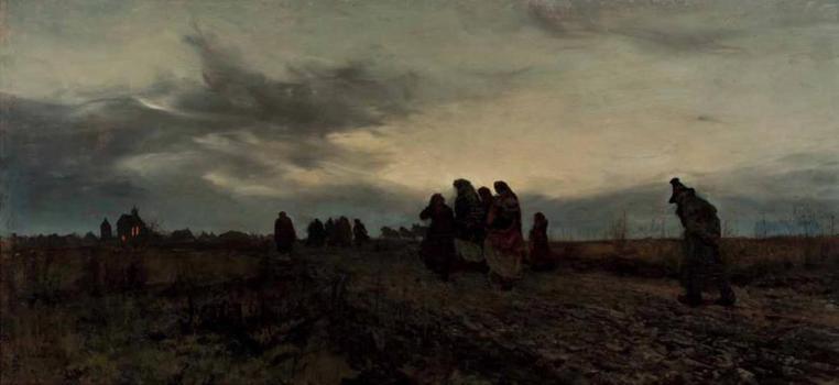 Józef Chełmoński - Wielki Piątek