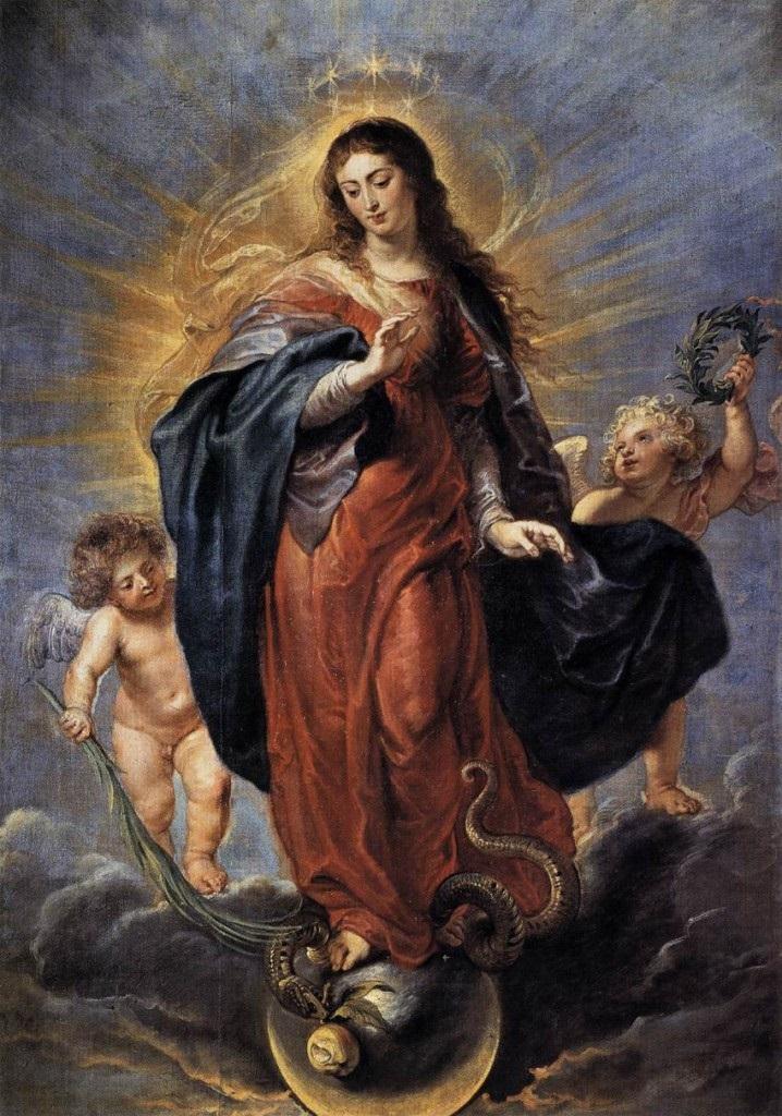 Pierre Paul Rubens - Niepokalanie Poczęta