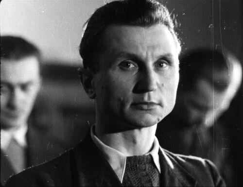 """Stanisław Sojczyński, """"Warszyc"""" na ławie oskarżonych podczas komunistycznego procesu"""