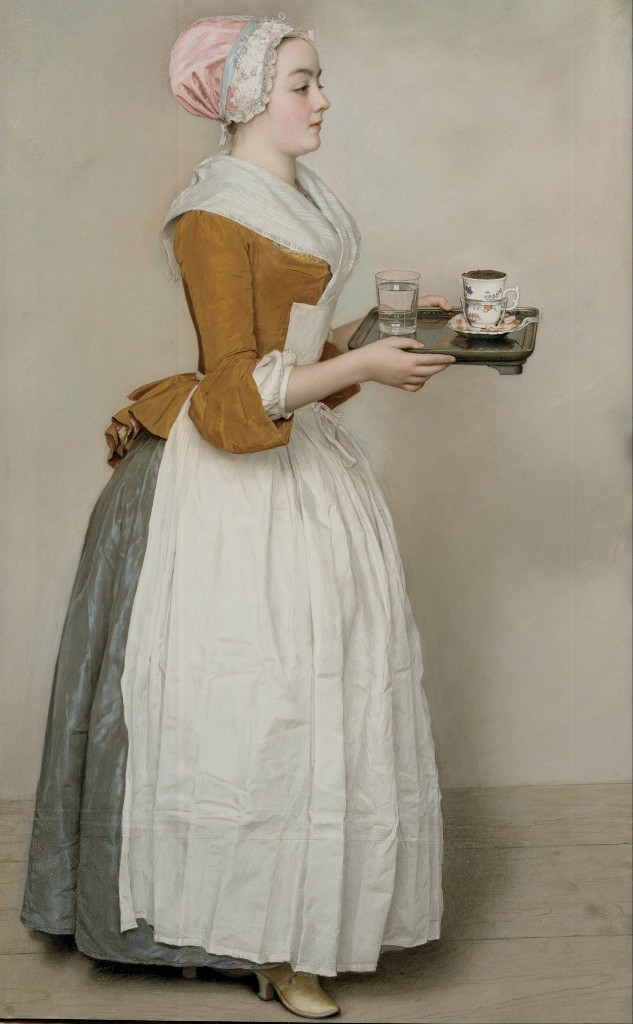 Jean-Etienne Liotard - Czekoladziarka