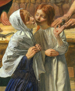 John Everett - Millais - Jezus w domu rodzinnym