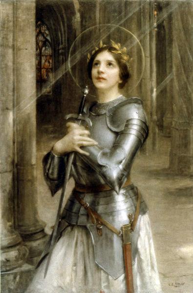 Charles-Amable Lenoir - Św. Joanna D`Arc