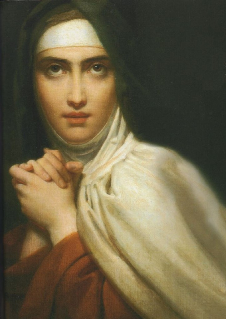 Francois Gerard - Św. Teresa z Avila (fragment)