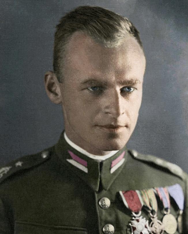Rotmistrz - dziś już Pułkownik - Witold Pilecki
