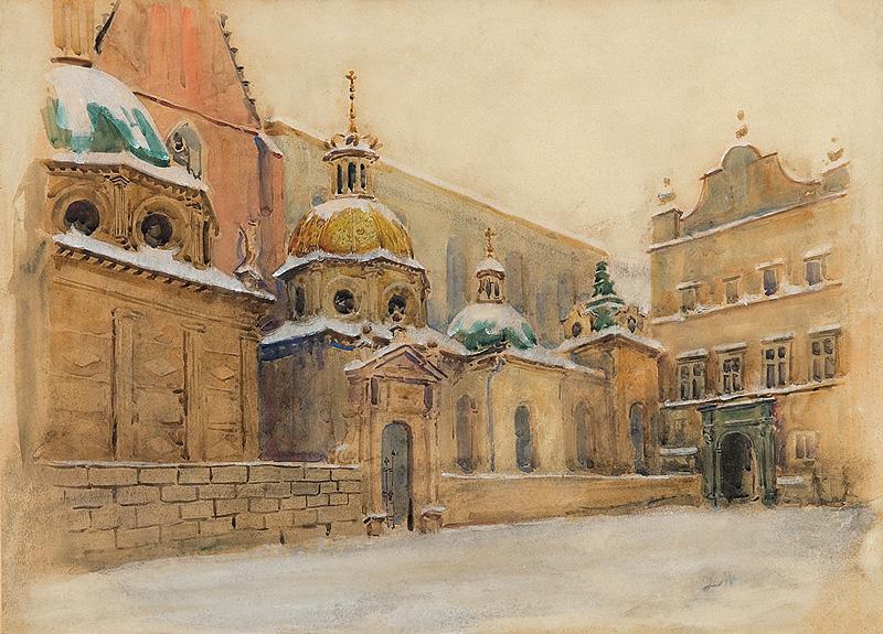 Leon Wyczółkowski - Katedra na Wawelu
