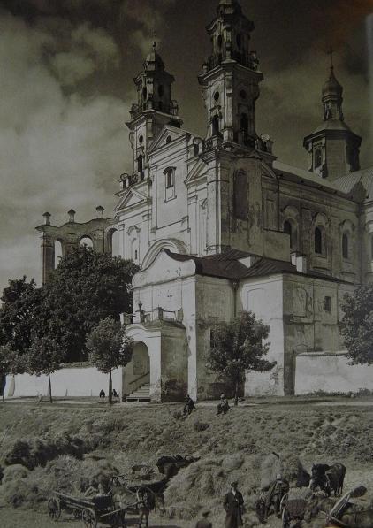 Kościół Jezuitów w Pińsku, gdzie złożono ciało św. Andrzeja  Boboli po jego śmierci