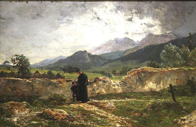 Wojciech Gerson - Cmentarz w górach