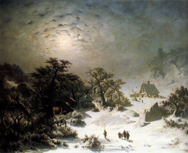 Adolf Kosarek - Zimowa noc