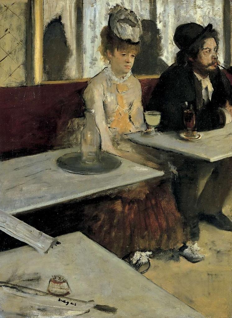 Edgar Degas - Absynt