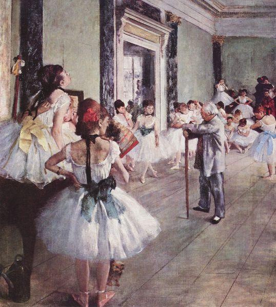 Edgar Degas - Lekcja tańca