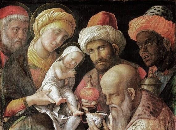 Andrea Mantegna - Pokłon Trzech Kroli