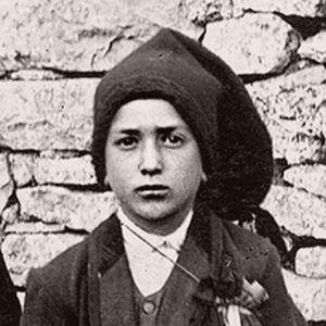 Franciszek Marto, jedno z trojga dziecki, którym objawiła się Matka Boża w Fatimie na dwa lata przed swoją śmiecią, 1917.