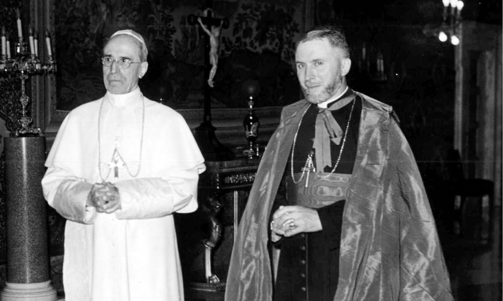 Pius XII i bp. Marcel Lefebvre, Wikariusz Apostolski w Afryce, lata 50. XX w.