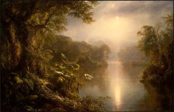 Frederick Edwin Church - Rzeka światła
