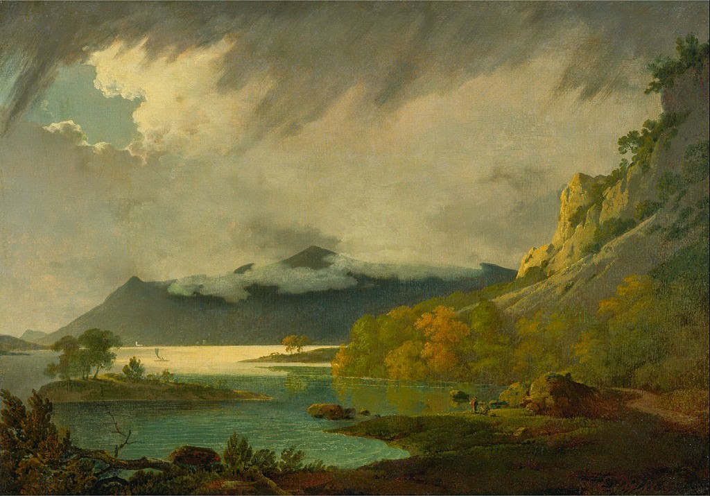 Joseph Wright of Derby - Pejzaż