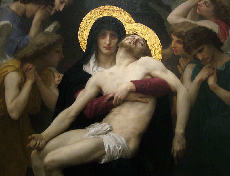 William-Adolphe Bouguereaux - Pieta