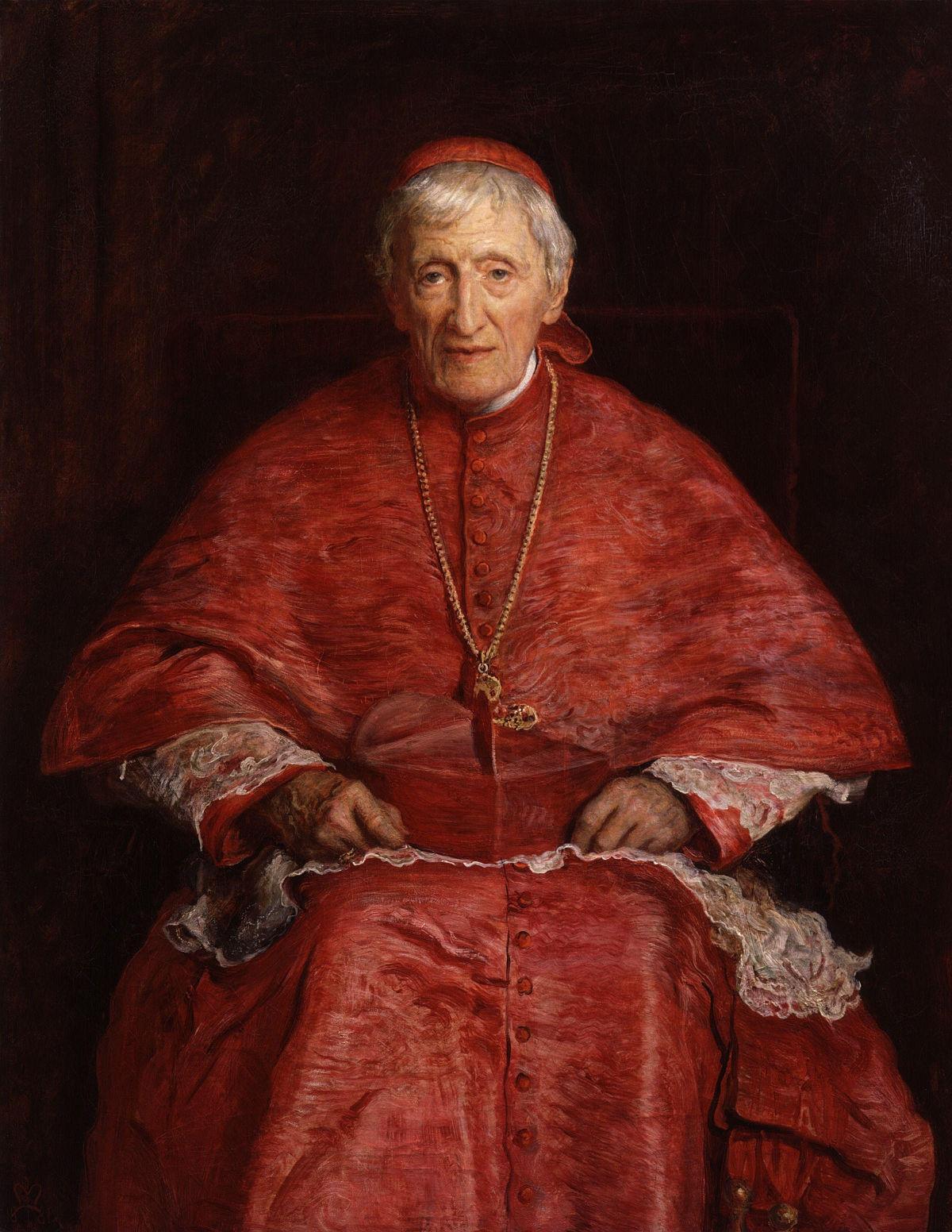 Sir Everett Millais - Kard. John Henry Newman