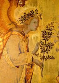 Fra Angelico - Zwiastowanie (fragm.)
