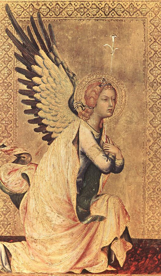 Fra Angelico - Zwaistowanie (fragm.)