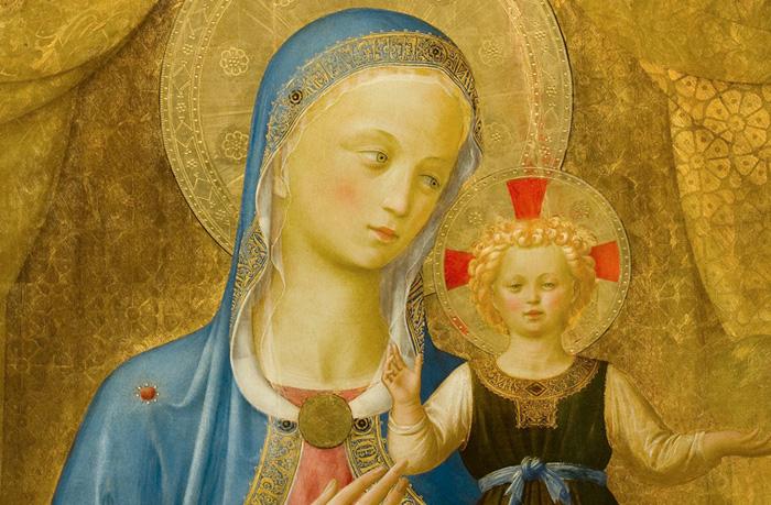 Fra Angelico - Matka Syna Bożego