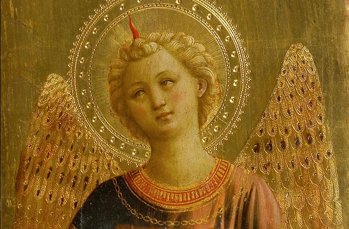 Fra Angelico - Anioł  Zwiastowania