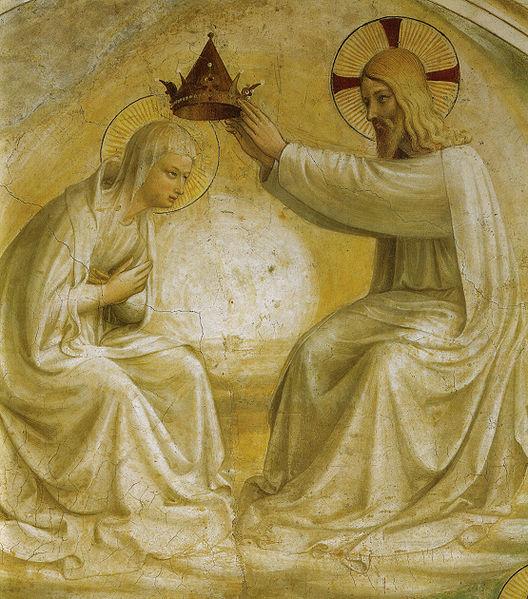 Fra Angelico - Koronacja Najświętszej Maryi Panny
