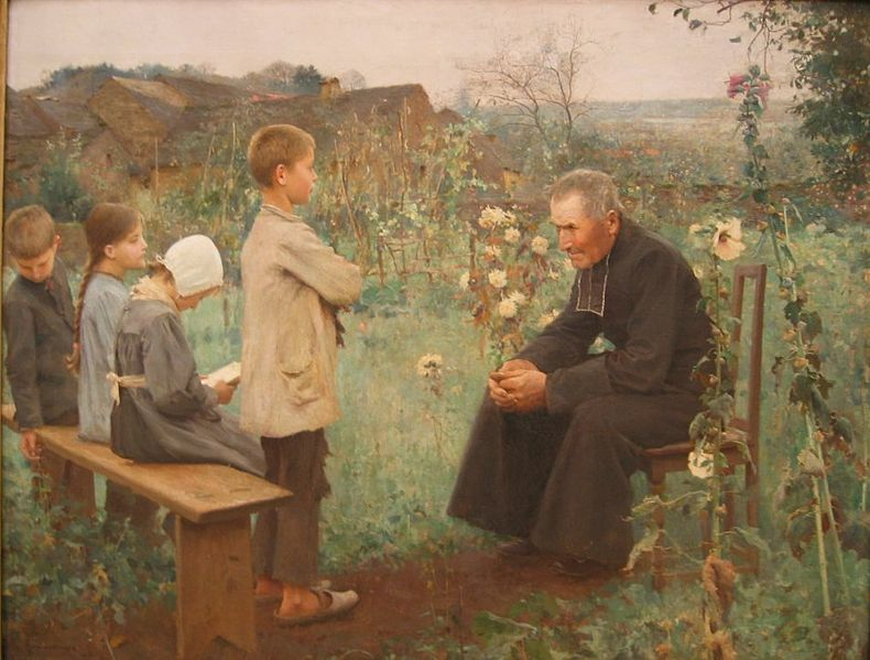 Jules-Alexis Meunier - Lekcja katechizmu