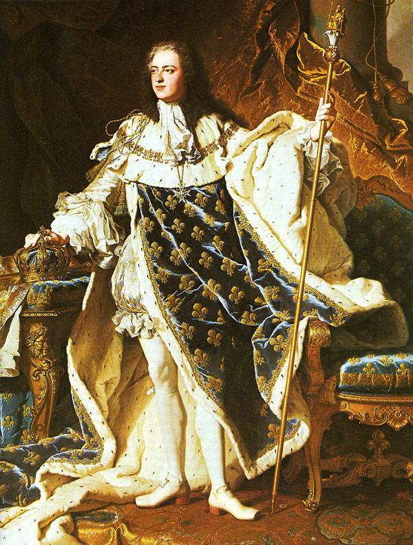 Ludwik XIV, władca Francji -