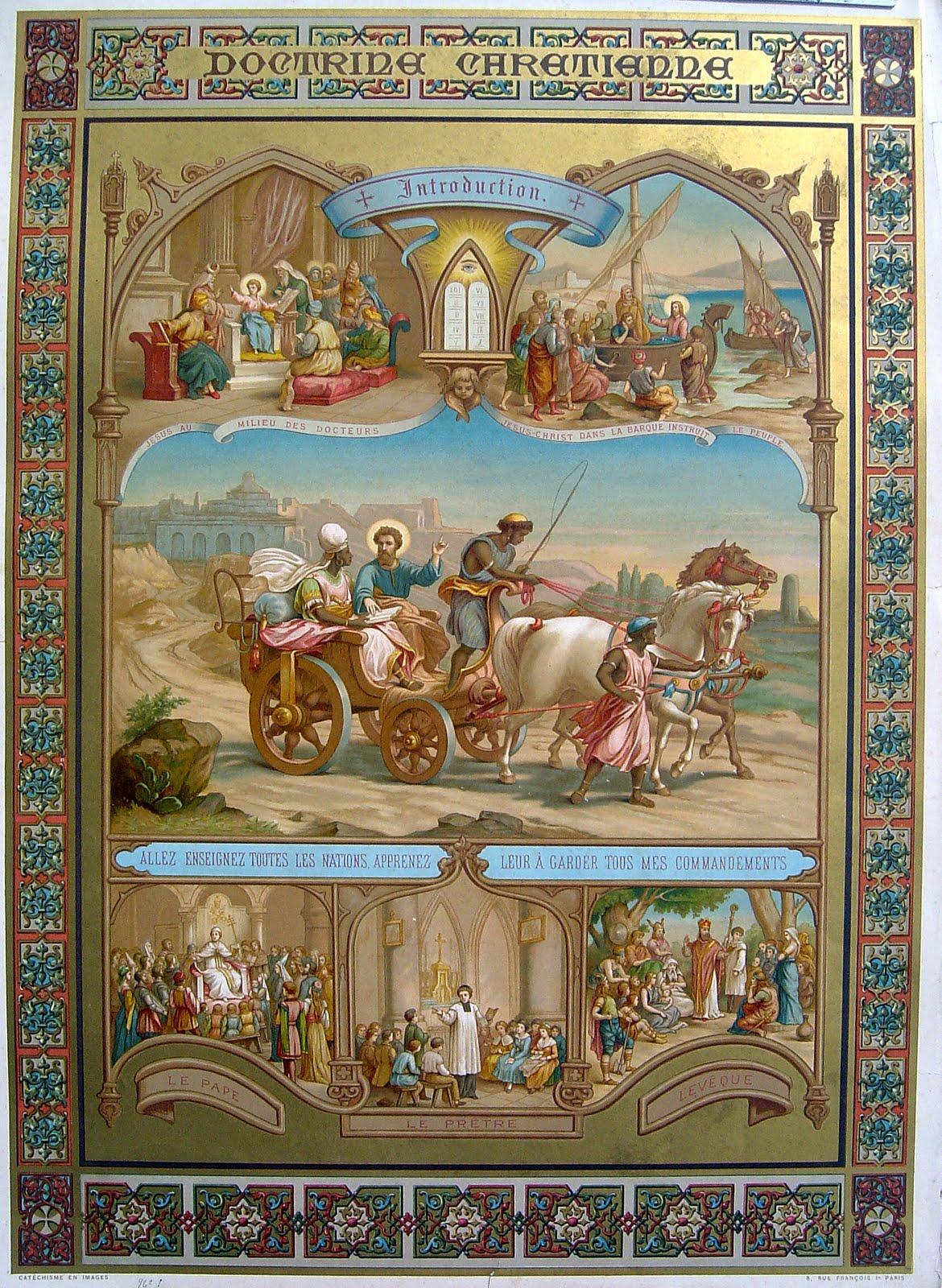 Ilustracja z Katechizmu z 1889 roku
