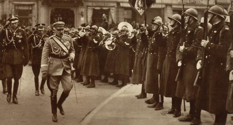Marszałek Józef Piłsudski , Warszawa, lata 20.