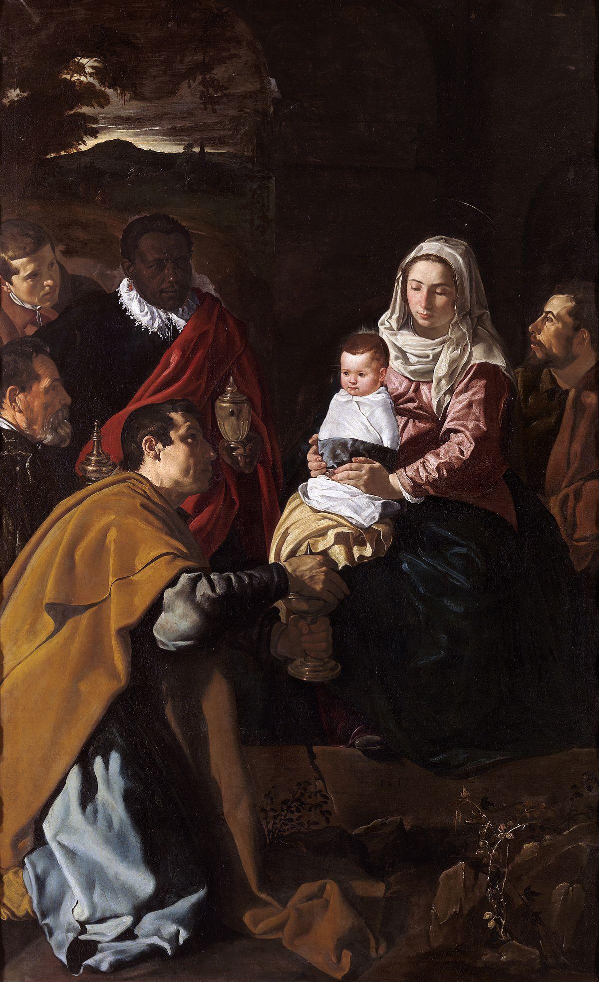 Pokłon Trzech Króli - Diego Velasques