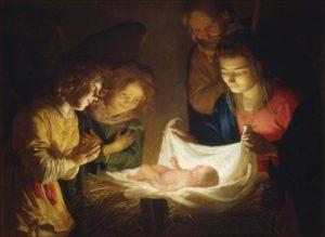 0 A aaaa adoracja dzieciątka Caravaggio