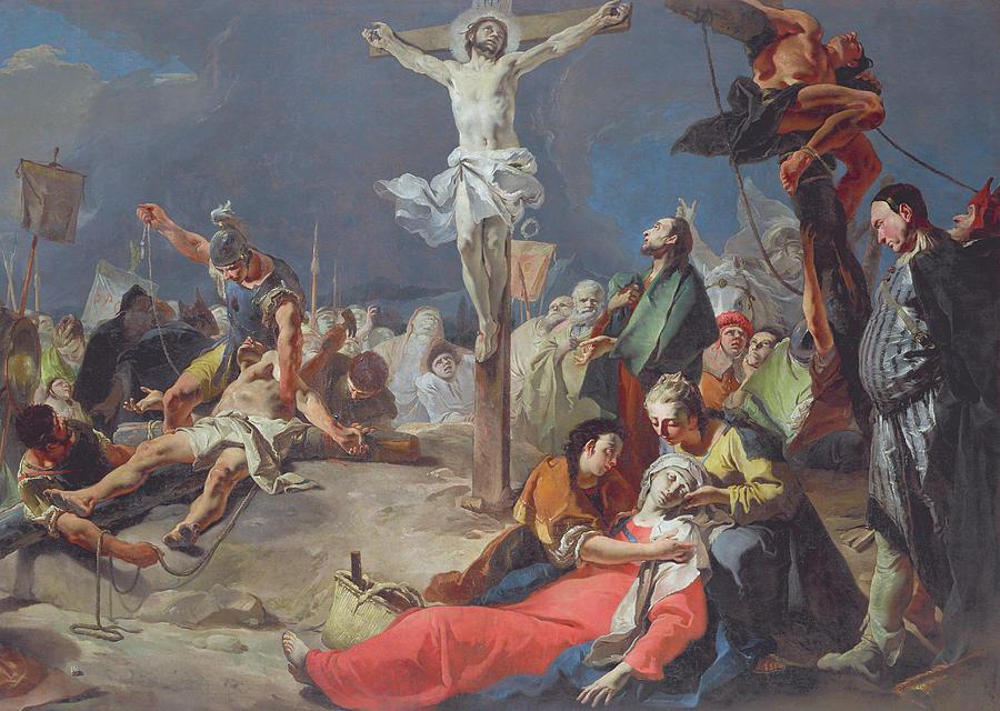 Giovanni Battista Tiepolo - Ukrzyżowanie