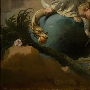 Giovanni Battista Tiepolo - Niepokalane Poczęcie (fragm.)