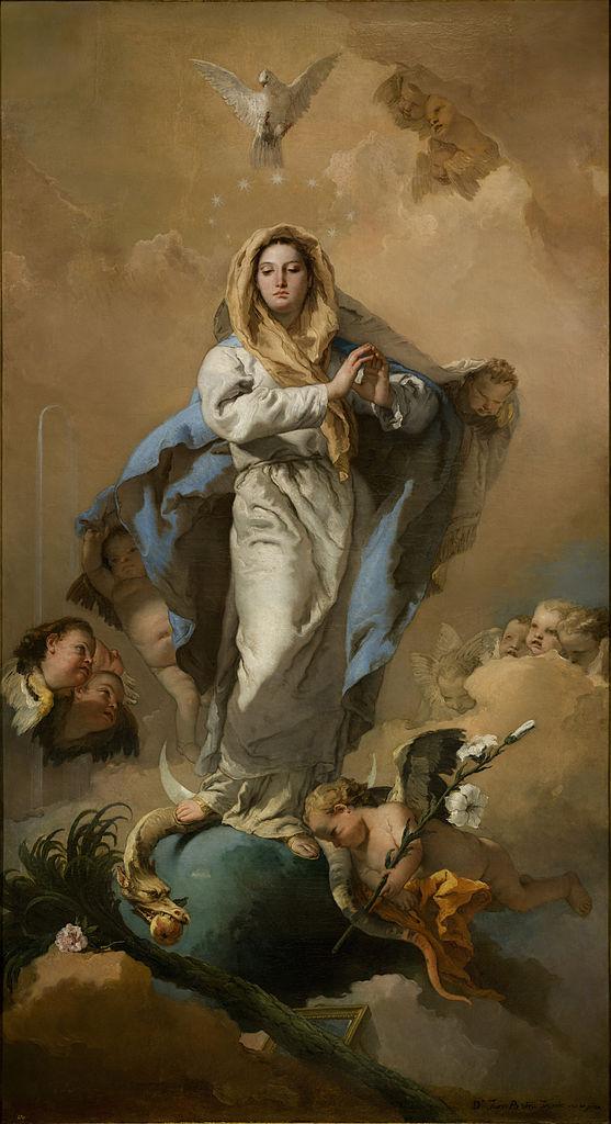 Giovanni Battista Tiepolo - NIepokalane Poczęcie