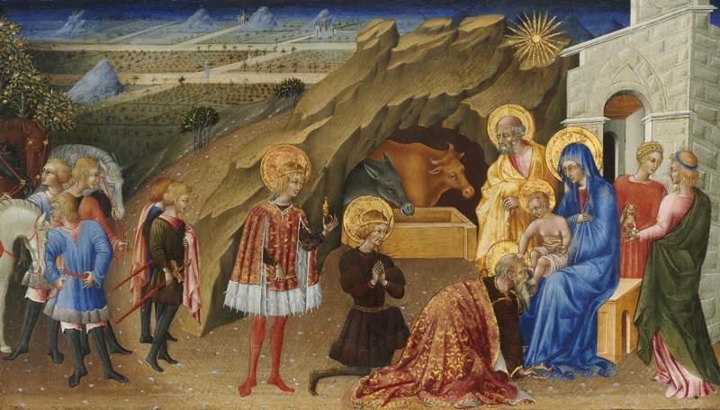 Giovanni di Paolo - Pokłon Trzech Król
