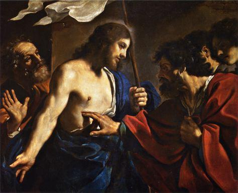 Guercini - Chrystus i Św. Tomasz