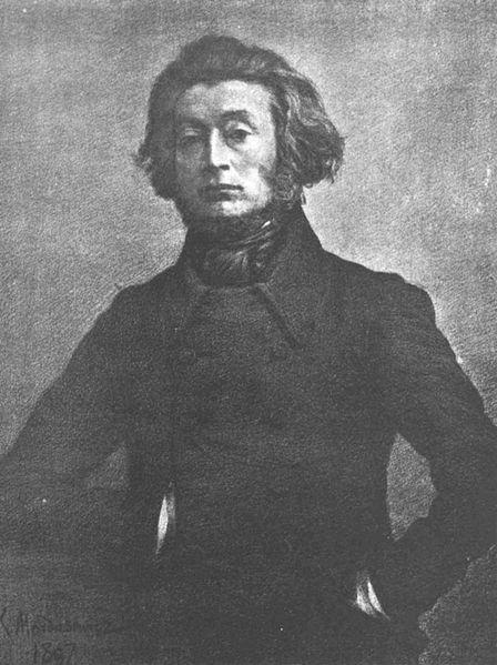 Adam Mickiewicz, pocz. lat 40. XIX w.