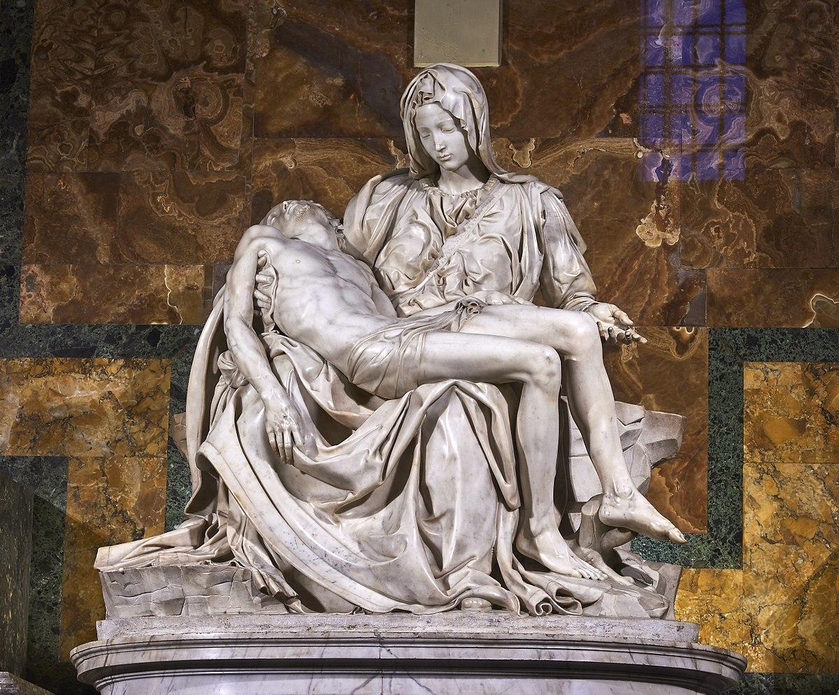 Pieta watykańska dluta Michała Anioła