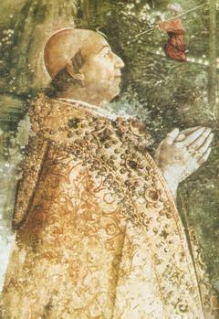 Papież Aleksander VI na fresku Pintoricchiego