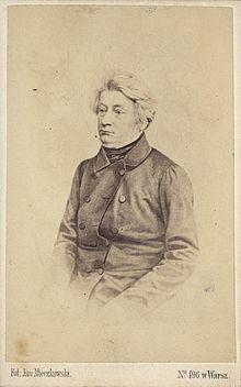 Adam Mickiewicz w Paryżu (lata 40. XIX w.), fot. Jan Mieczkowski