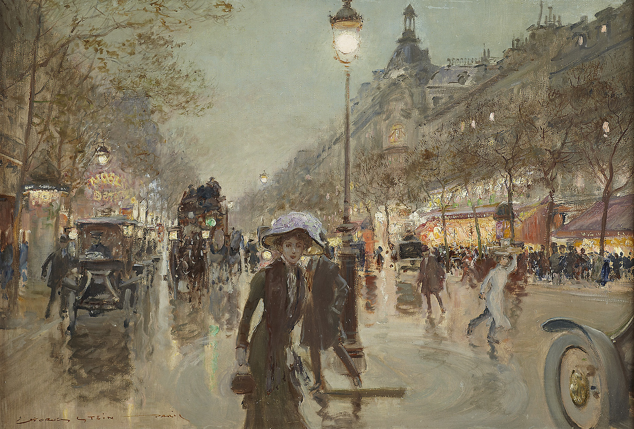 Georges Stein - Ulica paryska